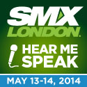 Hear me speak at SMX London 2014